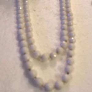 Vintage 2 strand beads necklace